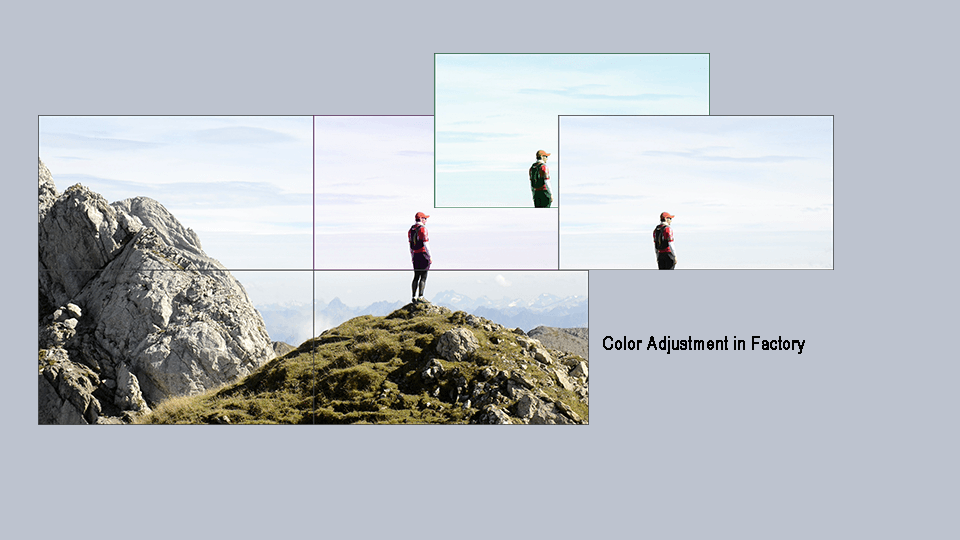 Color Calibration in Factory