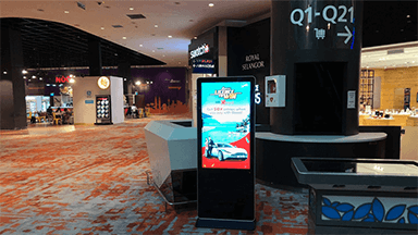 Transportation Digital Signage Solution
