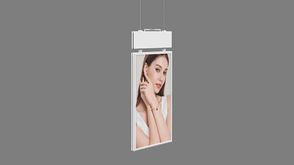 Double Sided Window Facing Digital Signage