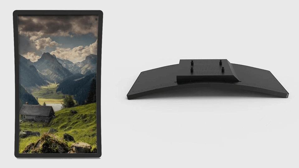 Curved Digital Signage Display LCD Monitors