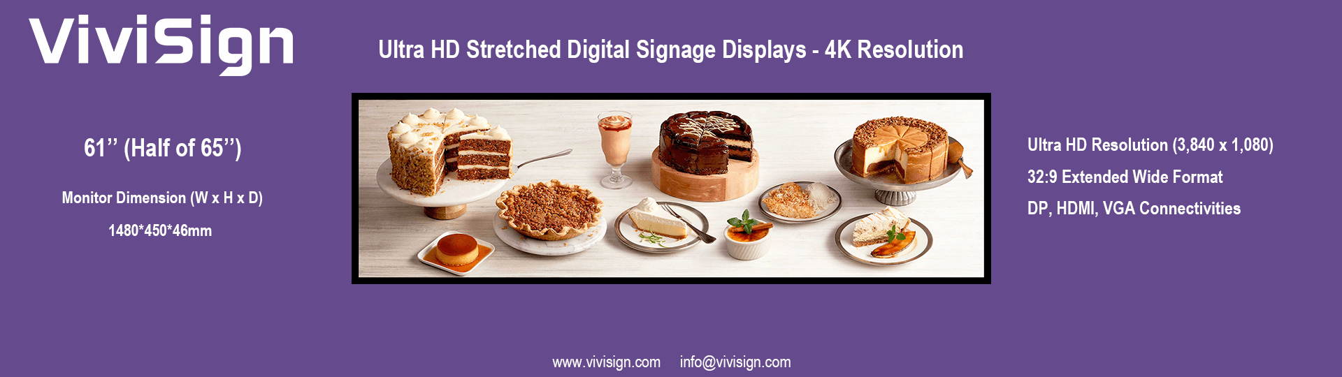4K Stretched Displays