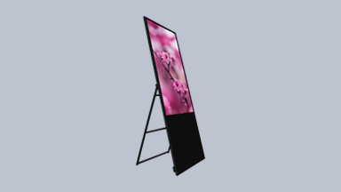 Folding Digital Signage Displays