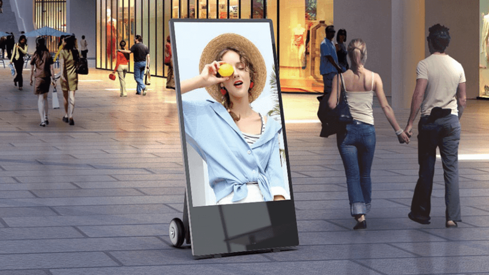 OUTDOOR DIGITAL ANDROID BATTERY A-BOARDS